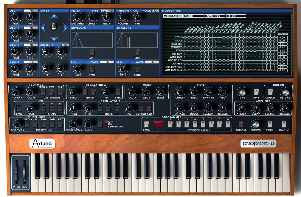 Arturia Prophet-V | Vintage Synth Explorer