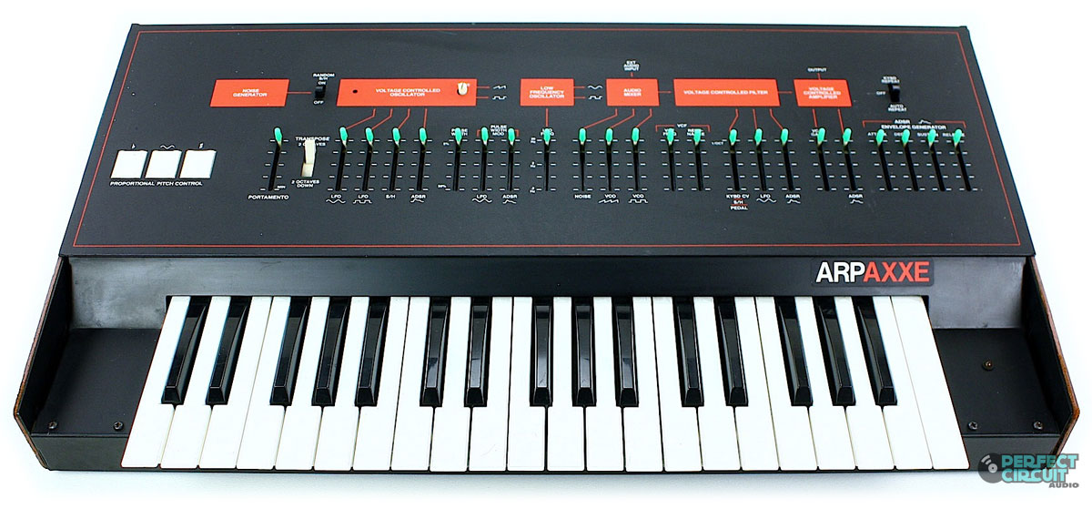 MATRIXSYNTH: ARP AXXE Vintage Synthesizer with Manual, Patch ...