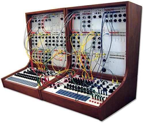 Image result for Buchla Model 100,