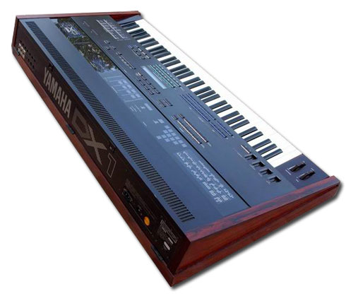 Yamaha DX1 Rear Image