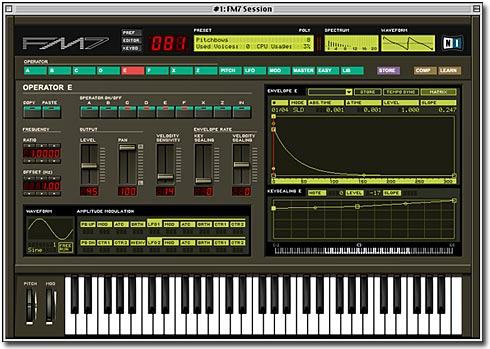 Native Instruments FM7 Screenshot