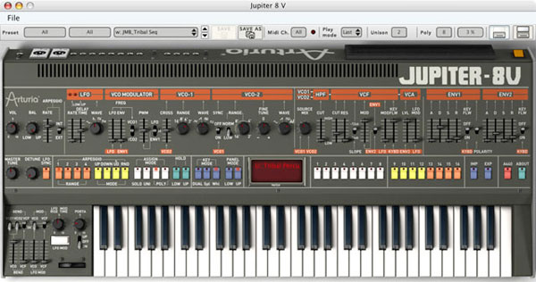 Arturia Jupiter-8V | Vintage Synth Explorer