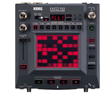 Korg KAOSS Pad KP3 Effects Sampler Image