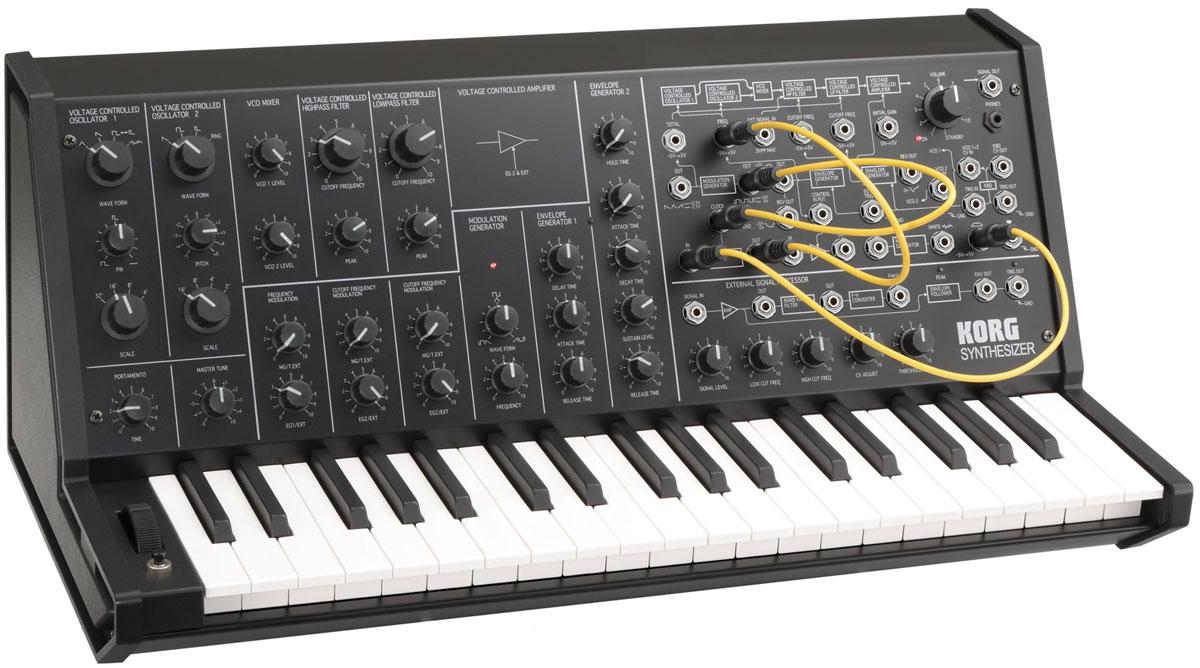 Korg Ms 20 Mini Vintage Synth Explorer