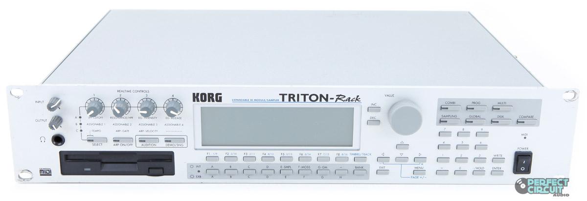 korg triton vintage synth explorer rh vintagesynth com korg triton rack user manual korg triton rack manual español