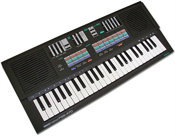 Yamaha Pss Keyboard