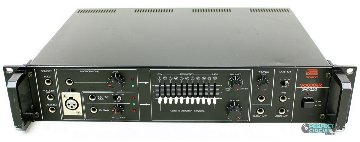 Roland Vocoder SVC-350 Owners Manual