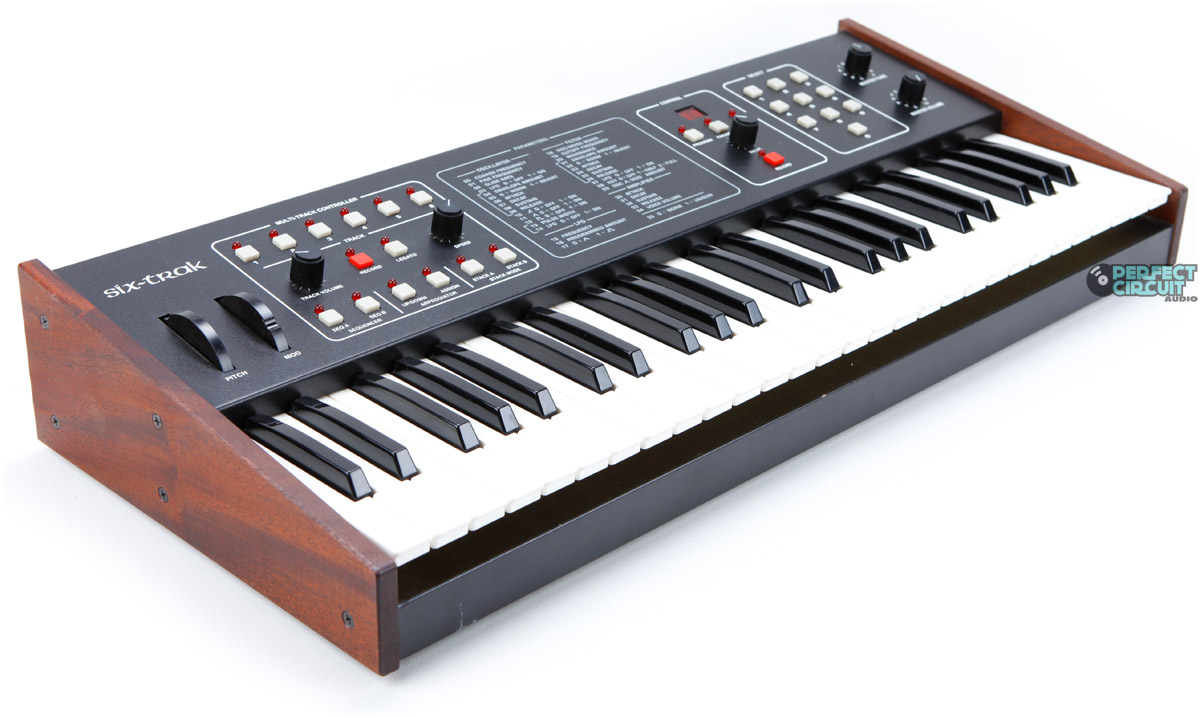 sequential circuits six trak vintage synth explorer. Black Bedroom Furniture Sets. Home Design Ideas