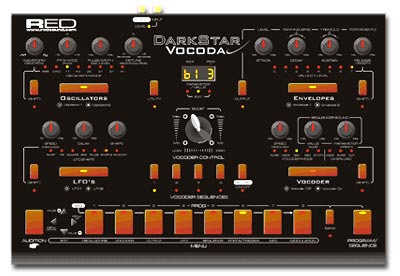 Red Sound DarkStar Vocoda Image