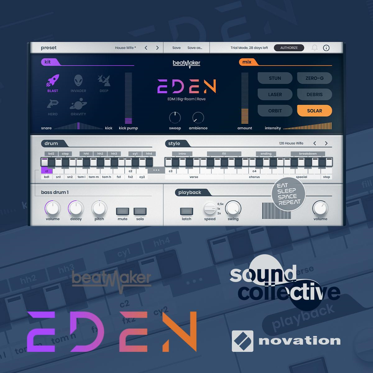 Novation gives Sound Collective members free UJAM Beatmaker