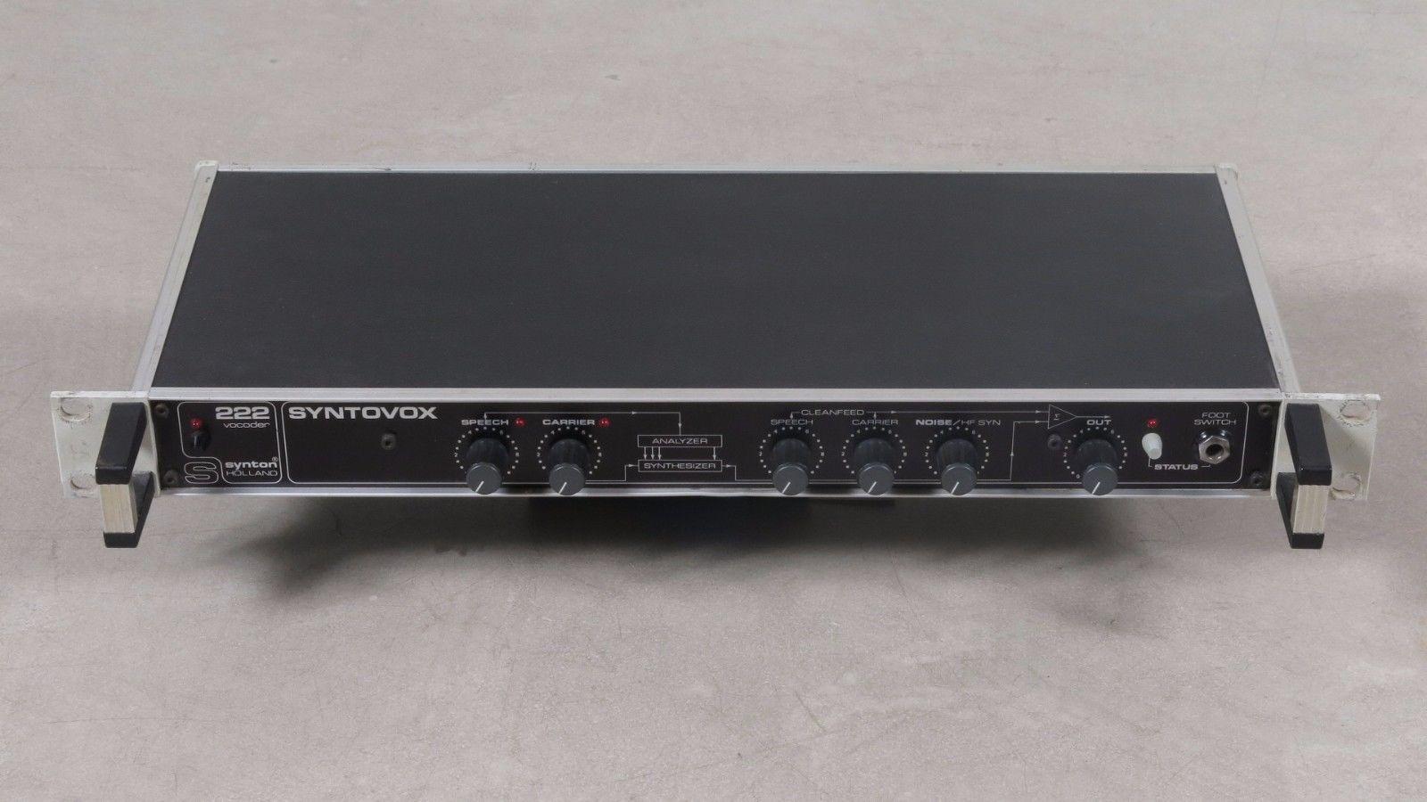 Syntovox 222 Vocoder