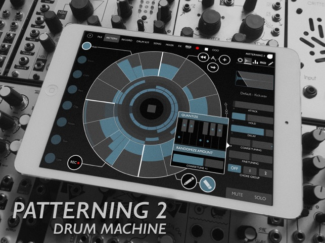 Patterning 2: Drum Machine