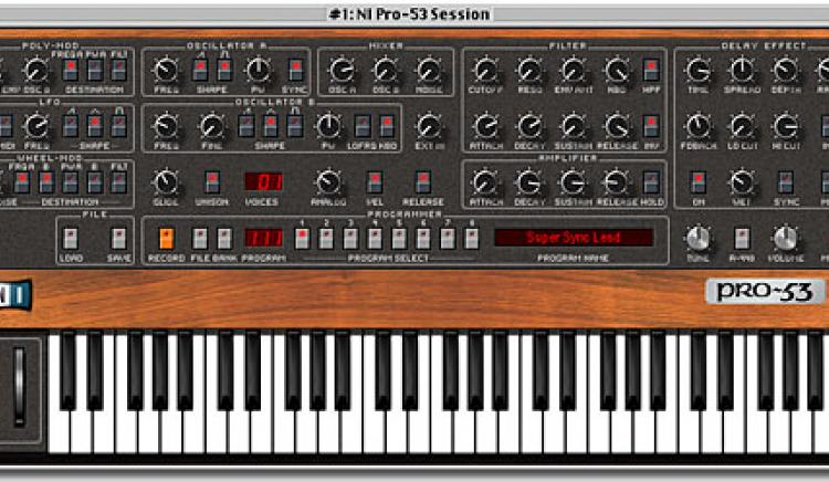 Native Instruments Pro-53 | Vintage Synth Explorer