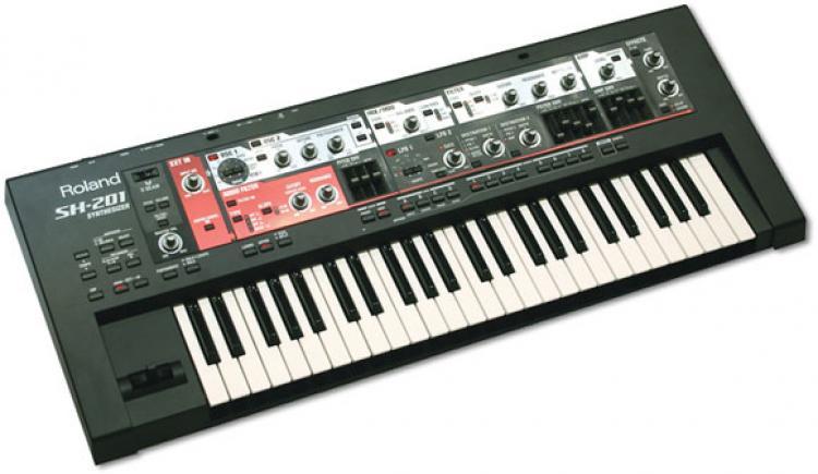 Roland Sh 201 Vintage Synth Explorer