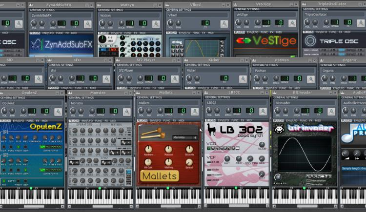Linux Free Synths