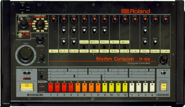 Roland TR-808 Finally Enters The Hall of Fame