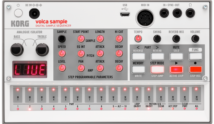 Korg Updates The Volca Sample With Handy New Features
