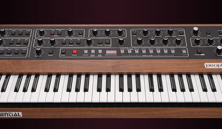 Prophet-5 Synthesizer Making A Comeback