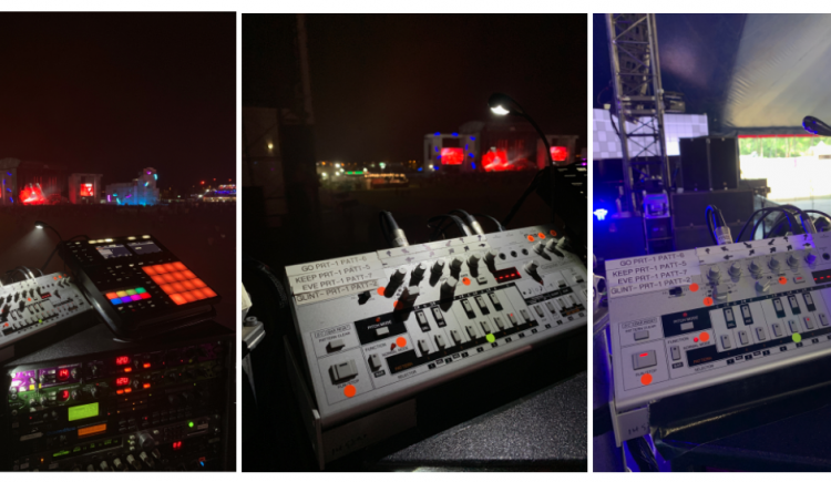 The Chemical Brothers Donated Their Roland TB-03 To Raise Money For Stage Crew Charity