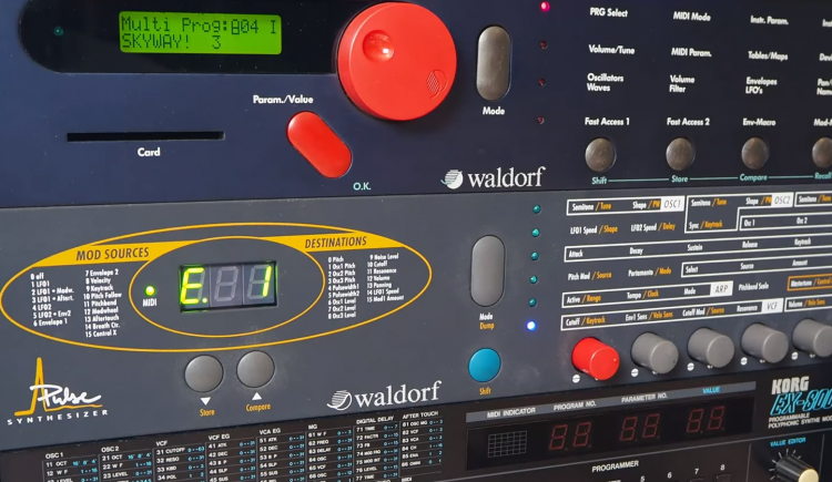 Virtual Music Offers Polivoks Filter Upgrade for Waldorf Pulse