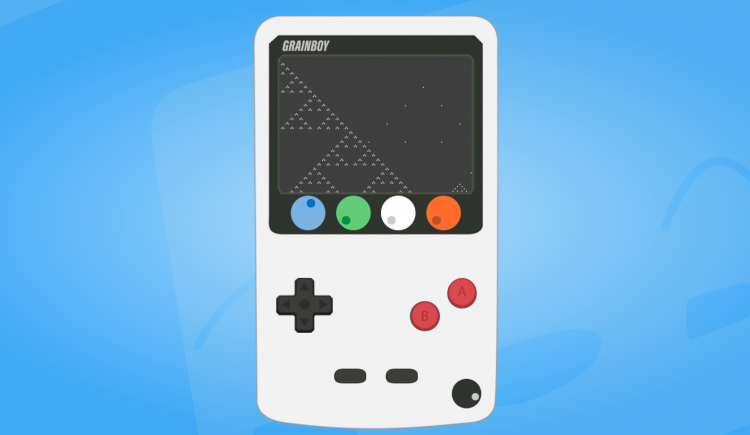 GRAINBOY Is a Granular Synth That Looks Like A Gameboy And Runs In A Browser