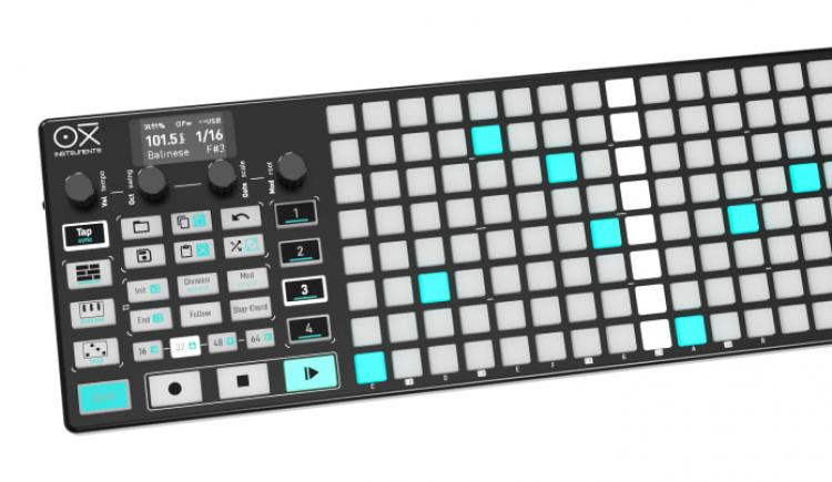 OXI Instruments Launches Indiegogo Campaign For Sequencer And MIDI Controller