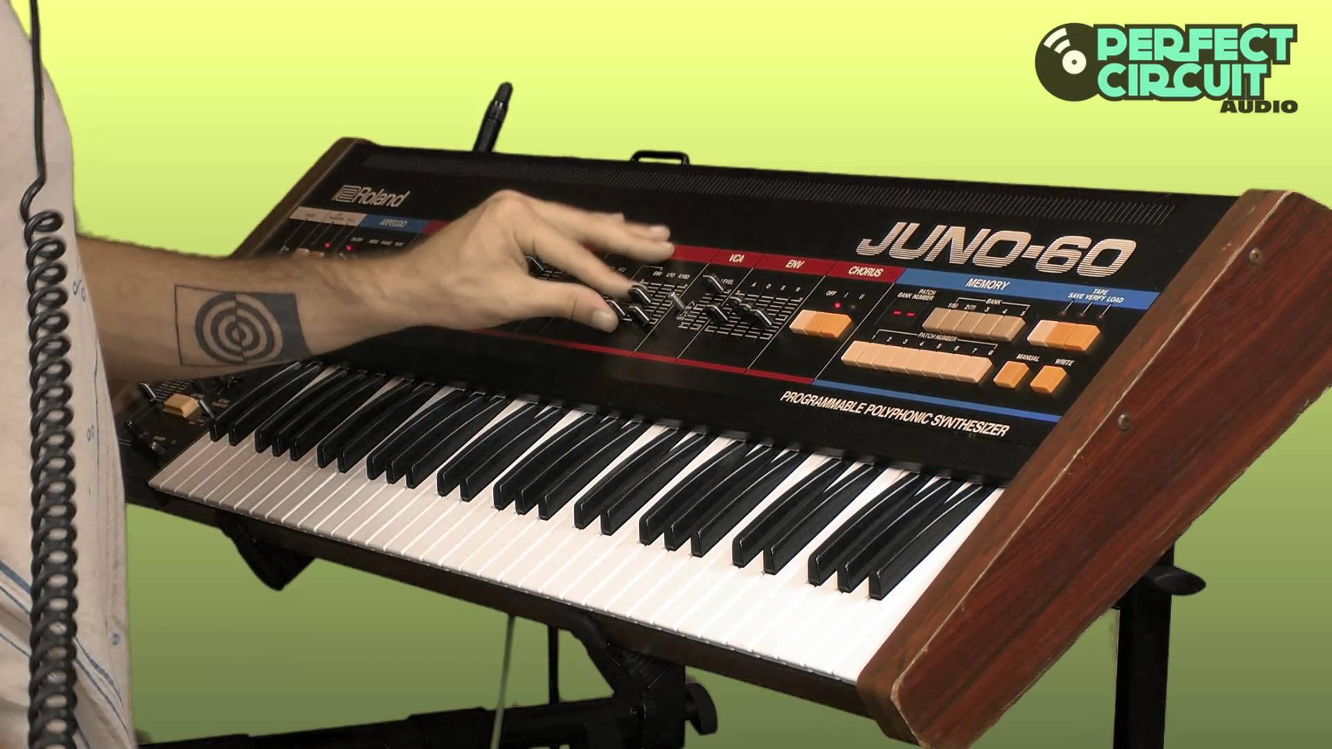 Embedded thumbnail for Juno-60 > YouTube