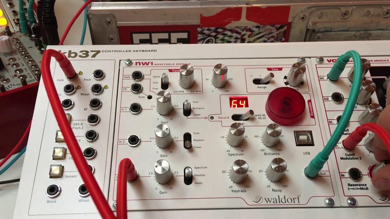 Embedded thumbnail for Waldorf MOD1 Eurorack Modulation Module > YouTube