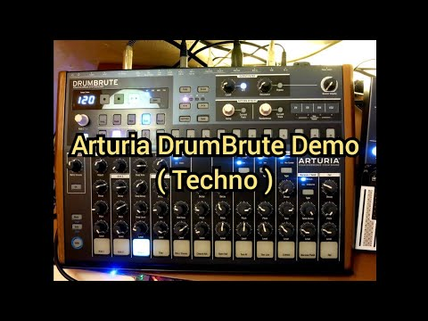 Embedded thumbnail for Arturia DrumBrute > YouTube