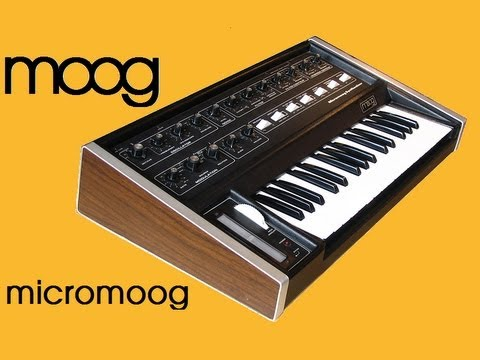 Embedded thumbnail for Micromoog > YouTube
