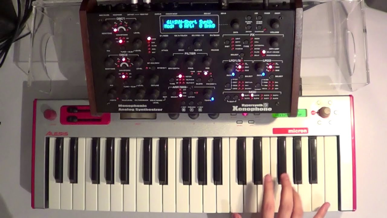 Embedded thumbnail for Hypersynth Xenophone > YouTube