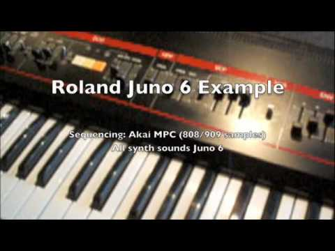 Embedded thumbnail for Juno-6 > YouTube