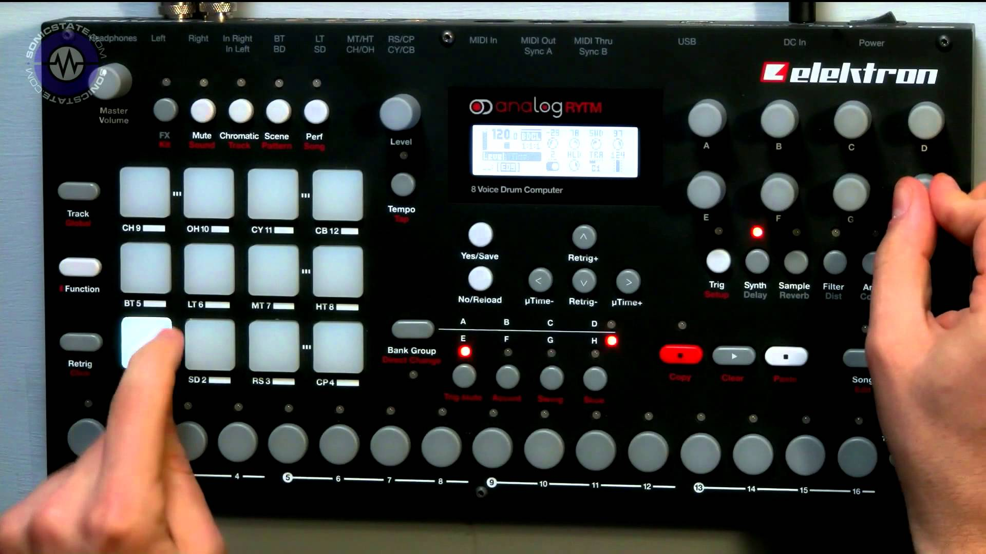 Embedded thumbnail for Analog Rytm > YouTube