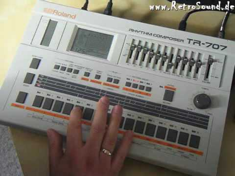 Embedded thumbnail for TR-707 > YouTube
