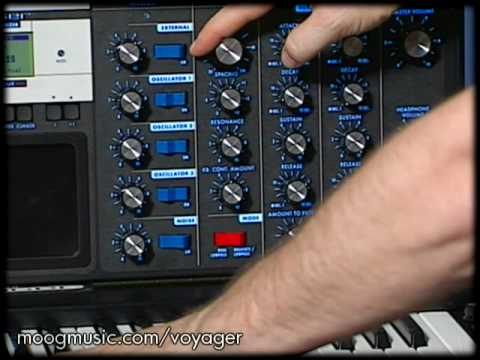 Embedded thumbnail for Minimoog Voyager > YouTube