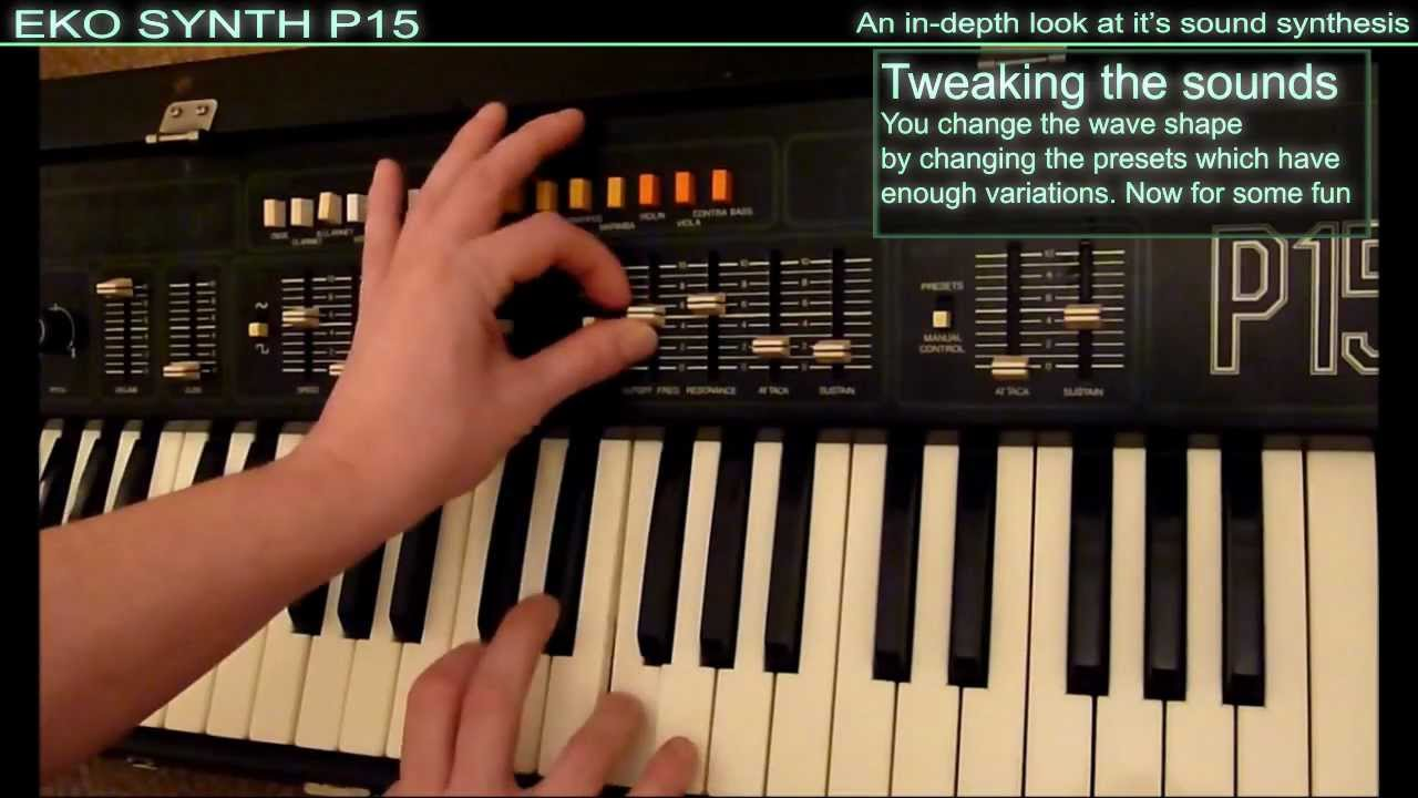 Embedded thumbnail for EKOsynth P15 > YouTube