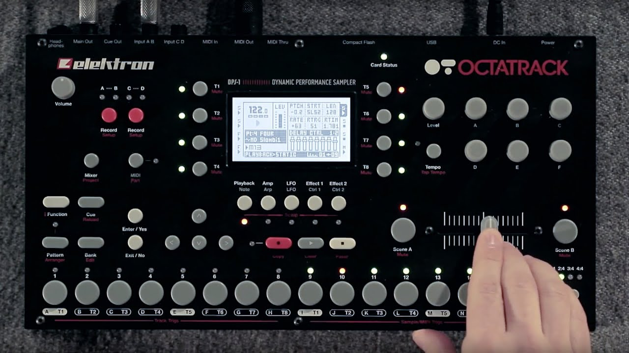 Embedded thumbnail for Elektron Octatrack > YouTube (previous revision)